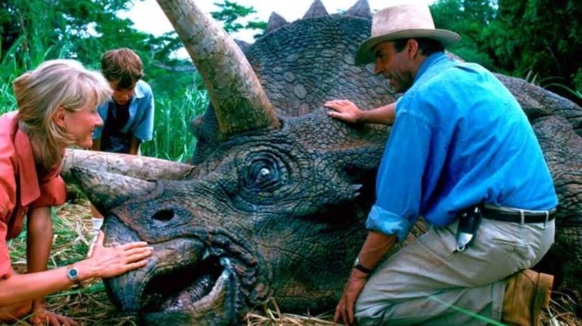 Jurassic Park lidera la lista de más taquilleras en las plataformas de películas.