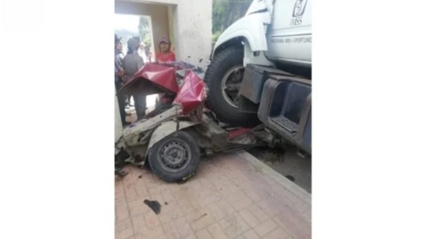 Fiscalía de Chiapas inicia investigación sobre accidente de camión del IMSS que embistió vehículos(Especial)
