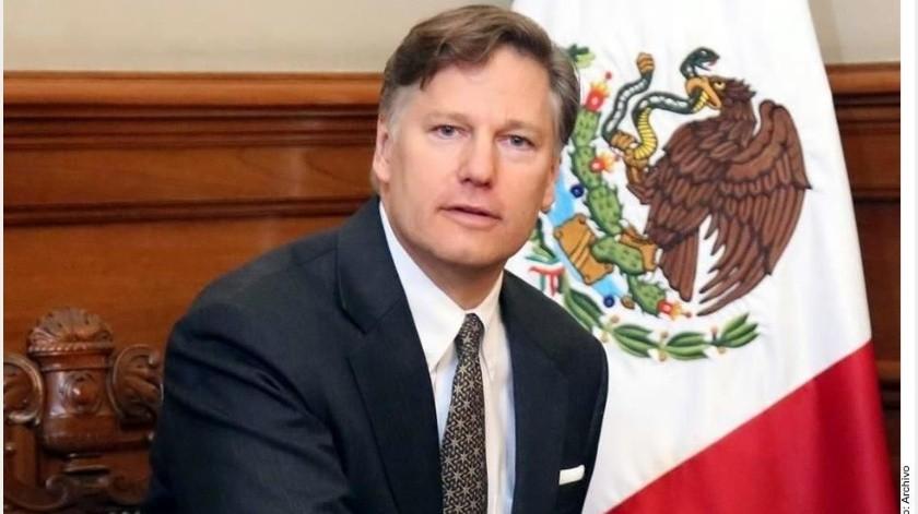 """Christopher Landau celebró la captura de José Antonio Yépez, """"El Marro"""", líder del Cártel de Santa Rosa de Lima, ocurrida esta madrugada en Guanajuato.(Archivo GH)"""