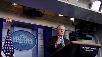 Descarta Mark Meadow, jefe de gabinete de la Casa Blanca, se retrasen elecciones en Estados Unidos