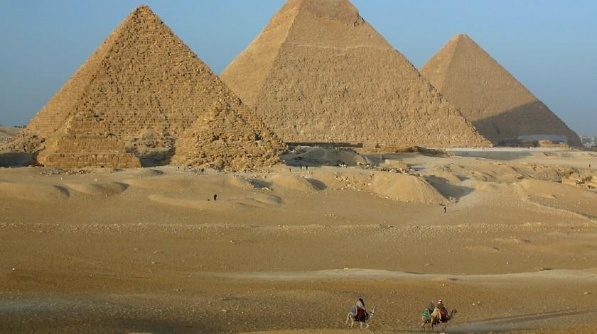 """Egipto invita a Elon Musk a visitar las pirámides tras sus tweets de que """"aliens las construyeron""""(Archivo GH)"""