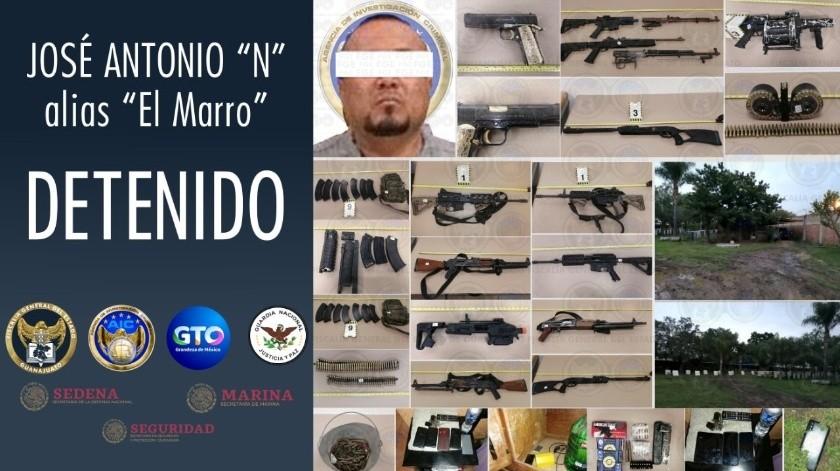 """Fiscalía de Guanajuato da a conocer detalles del operativo sobre captura de """"El Marro""""(FB FGE GTO)"""