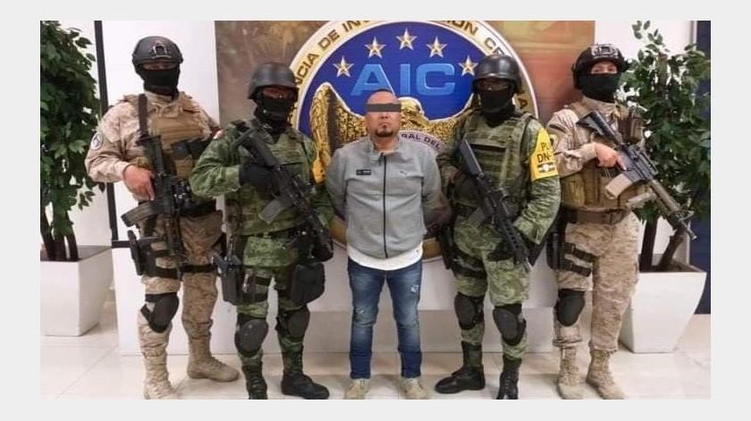 De acuerdo con un informe de inteligencia de la Marina y del Ejército, al que tuvo acceso EL UNIVERSAL, la mayoría de la gente de confianza ya fue detenida por autoridades federales(Especial)