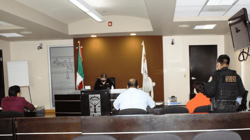 Dan prisión preventiva a acusado de feminicidio de Genebit(Cortesía)