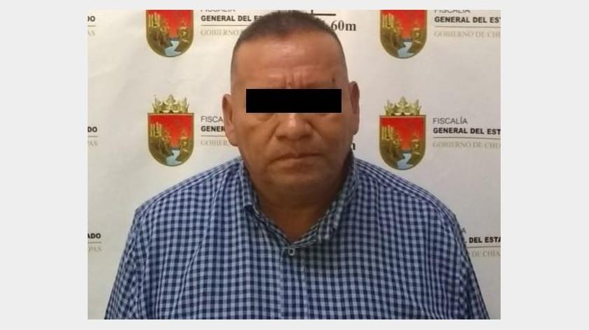 Detiene Fiscalía de Chiapas a exalcalde de Pantelhó por abuso sexual agravado(Twitter @FGEChiapas)
