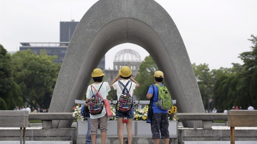 Comité Internacional de la Cruz Roja alerta de amenaza nuclear 75 años después de Hiroshima(EFE)