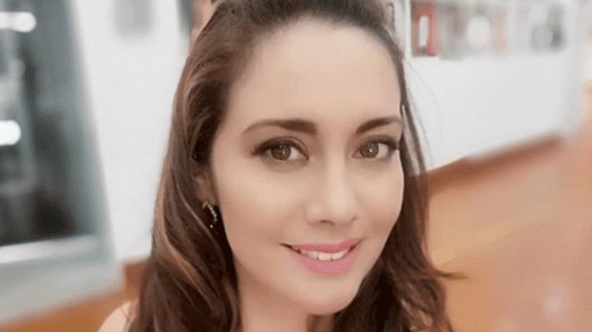 La famosa recientemente sufrió un accidente automovilístico.(Instagram/Sugey Ábrego.)