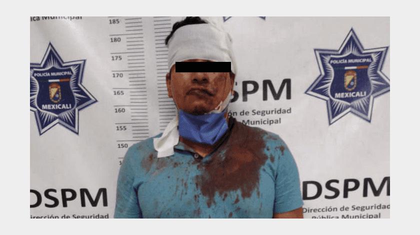 Fallido homicida es golpeado por víctima en la colonia El Refugio(Cortesía)