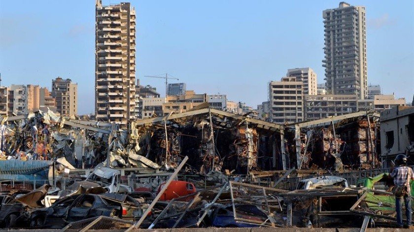 Israel ofrece ayuda humanitaria a Beirut tras negar su participación en explosiones(EFE)