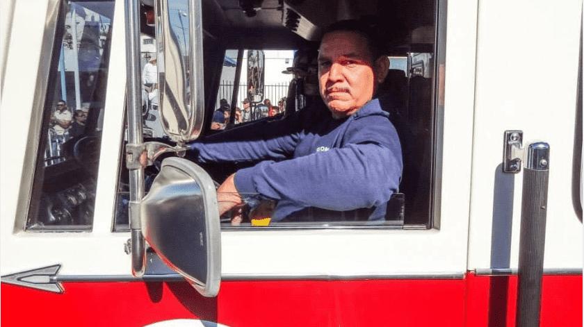 Muere capitán de Bomberos de Mexicali(Cortesía)