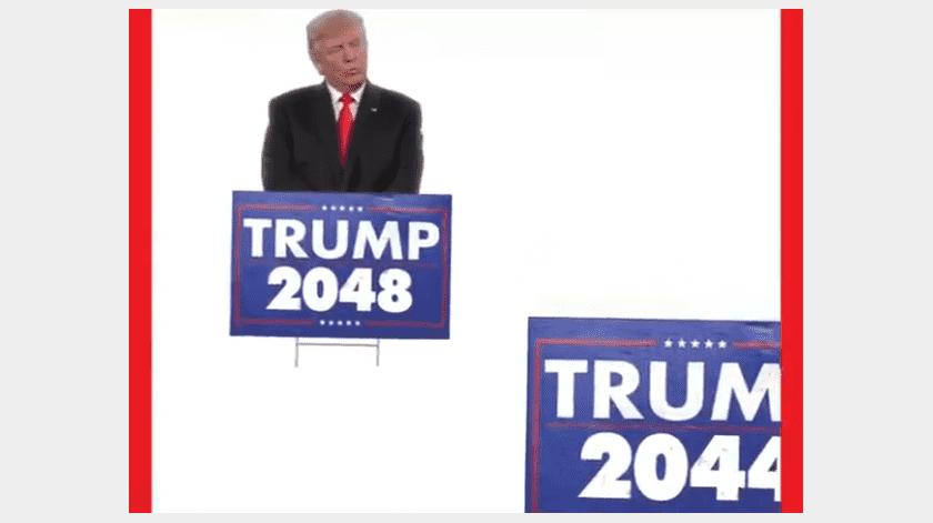 Donald Trump publica inquietante video que sugiere reelección indefinida(Twitter @realDonaldTrump / Captura de Pantalla)