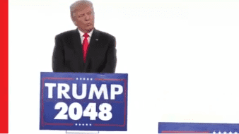 Donald Trump publica inquietante video que sugiere reelección indefinida