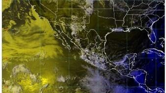 Para esta noche, se prevén lluvias puntuales intensas en Chiapas, y muy fuertes en Campeche, Estado de México y Tabasco