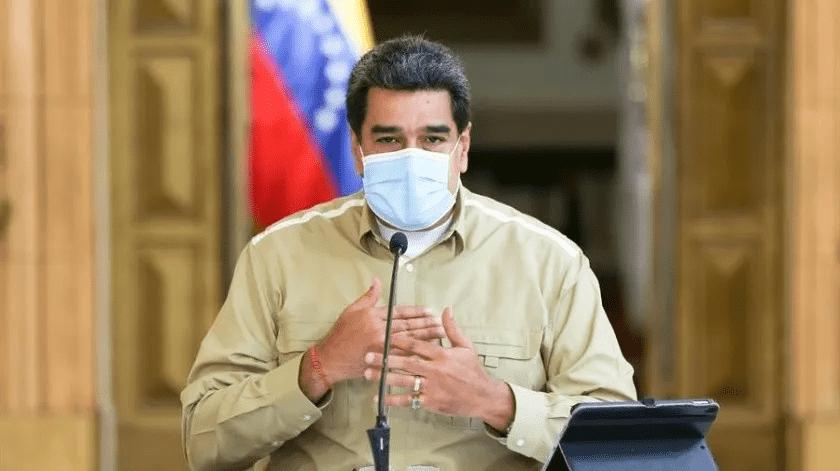 """Maduro emula a Trump y califica a Covid-19 como """"virus colombiano""""(EFE)"""