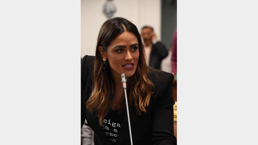 Denunció diputada Rojo de la Vega chat por filtrar fotos íntimas de mujeres(FB oficial ARV)