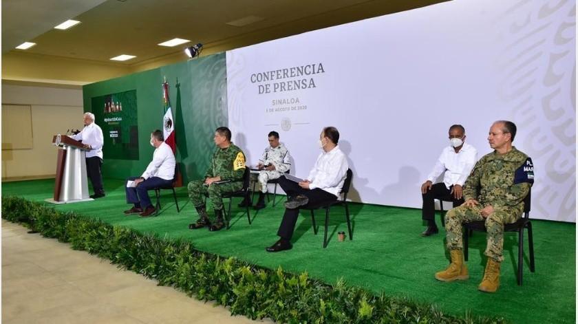El presidente Andrés Manuel López Obrador llamó a los servidores públicos del País a seguir el ejemplo de la dependencia federal.(Gobierno de México)