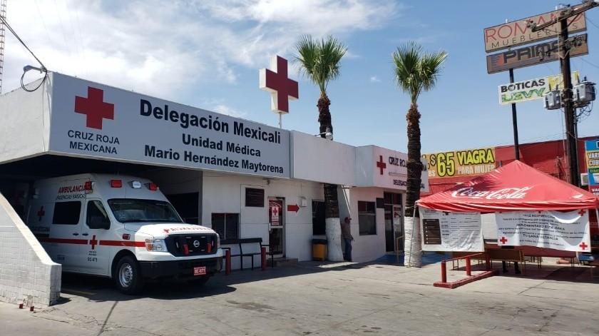 Cruz Roja Mexicali lista para atender emergencias no Covid(Archivo)