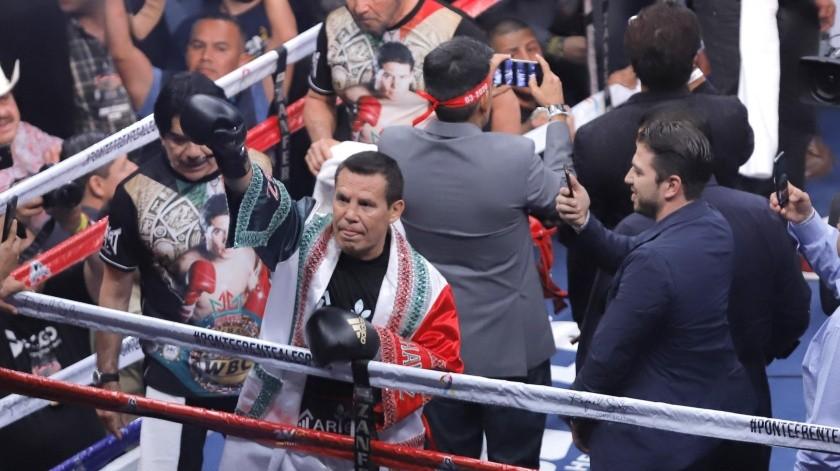Julio César Chávez volverá a intercambiar golpes con el 'Travieso' Arce.(Julián Ortega)