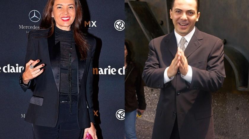 Siguen los dimes y diretes entre Yolanda Andrade y Cristian Castro.(Agencia México)