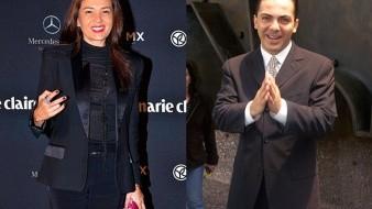 Siguen los dimes y diretes entre Yolanda Andrade y Cristian Castro.
