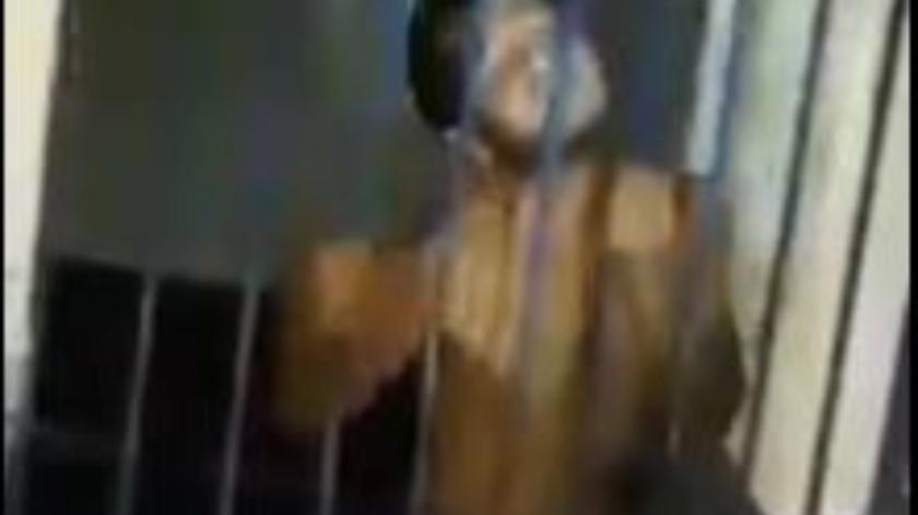 VIDEO: Extrañas imágenes de un 'Nahual' atrapado en Chiapas(Captura de pantalla)