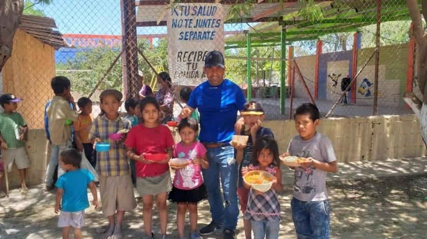 Se requieren donativos de alimentos para poder continuar con el apoyo alimentario a 500 personas, entre niños y adultos.(Banco Digital)