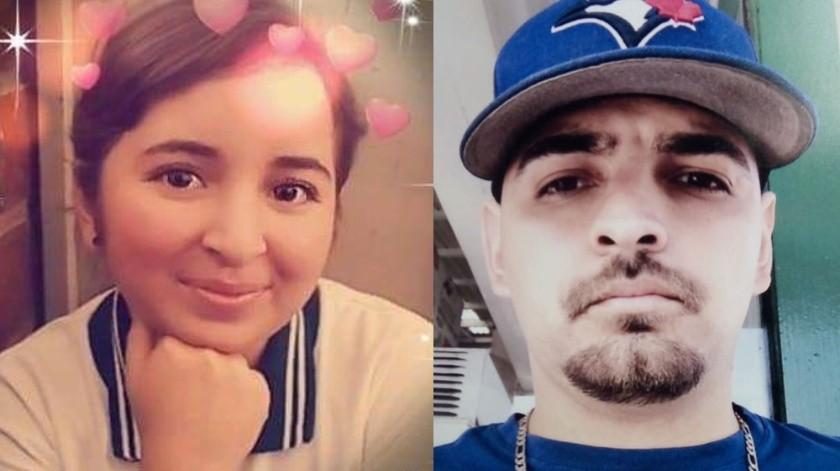 Urania Marlen Cortés Burbua, de 15 años y Juan José Islas Franco, de 27 años de edad son los desaparecidos.(Cortesía)