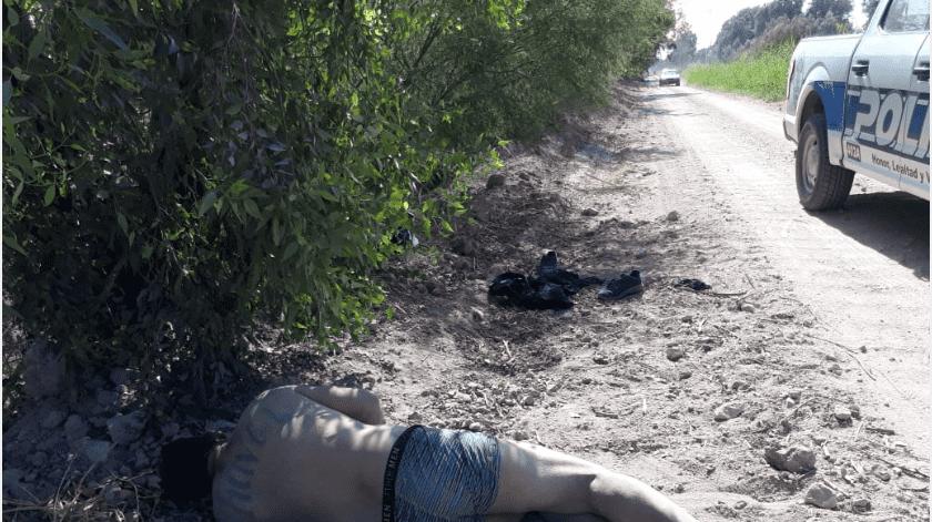 Encuentran muerto a hombre al costado de un canal(Cortesía)