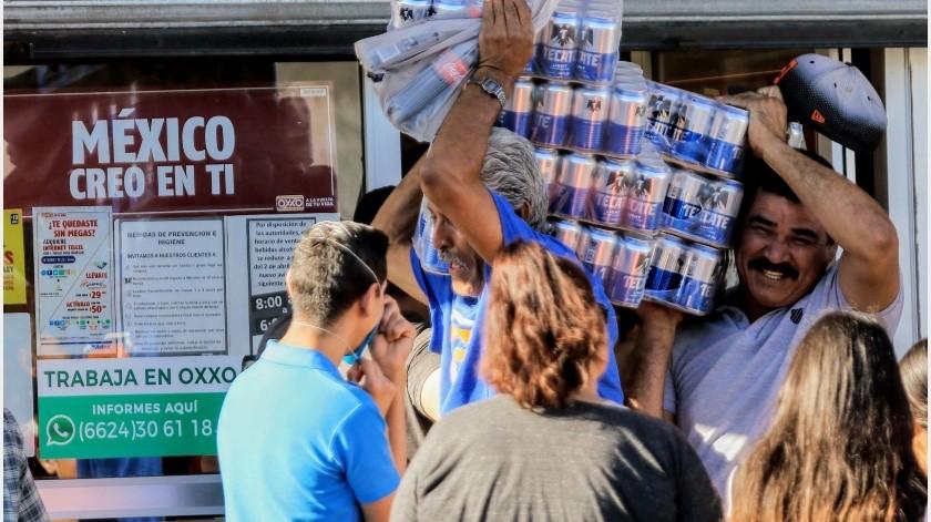 Siete de cada diez familias mexicanas compran cerveza, con un gasto promedio al año de 850 pesos, dijo la firma de análisis de mercado Kantar.(Archivo GH)