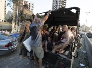 Las fotos que muestran el terror, muerte y destrucción tras explosión en Beirut