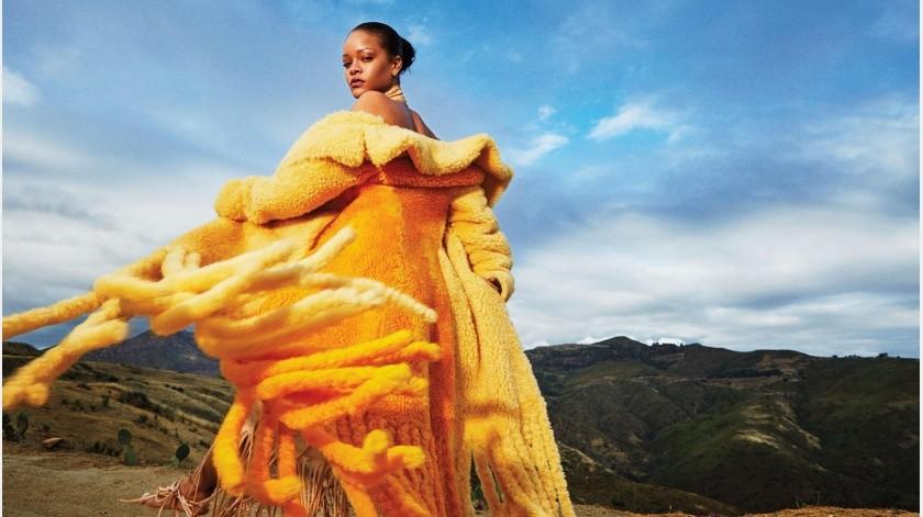 Rihanna retrató su vida habitual durante la cuarentena de forma creativa.
