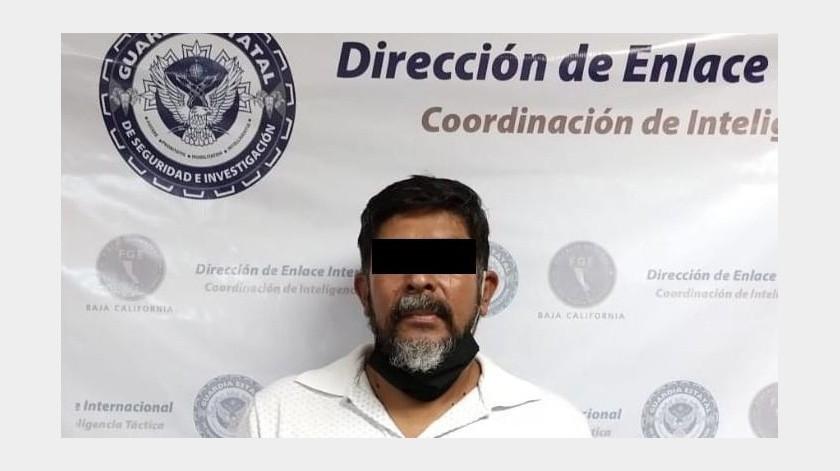 """Capturan en Mexicali a uno de los """"más buscados"""" en California(Cortesía)"""