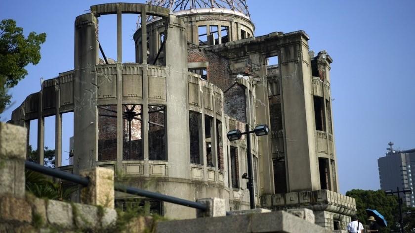 """La bomba """"Little Boy"""" que cayó sobre Hiroshima causó más de 100 milmuertos, mientras que en Nagasaki """"Fat Man"""" terminó con la vida de unas 75 milpersonas.(AP)"""