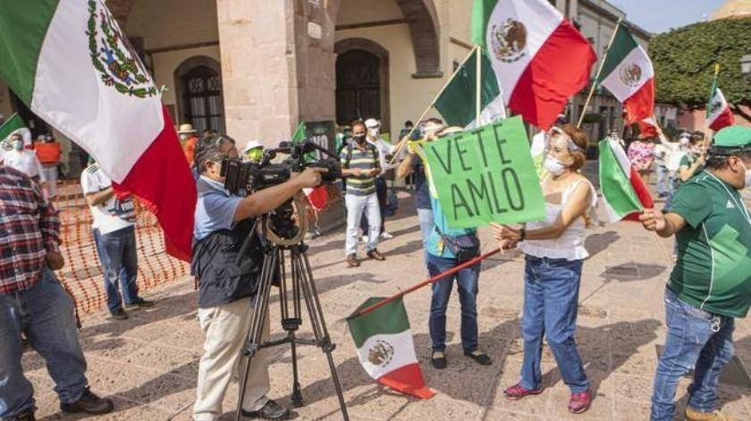Empresarios de Nuevo León y Jalisco, en campaña Anti-AMLO: Proceso(El Universal)