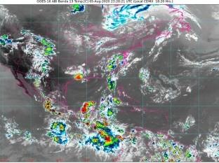 Clima: Esta noche se pronostican lluvias intensas para Chiapas