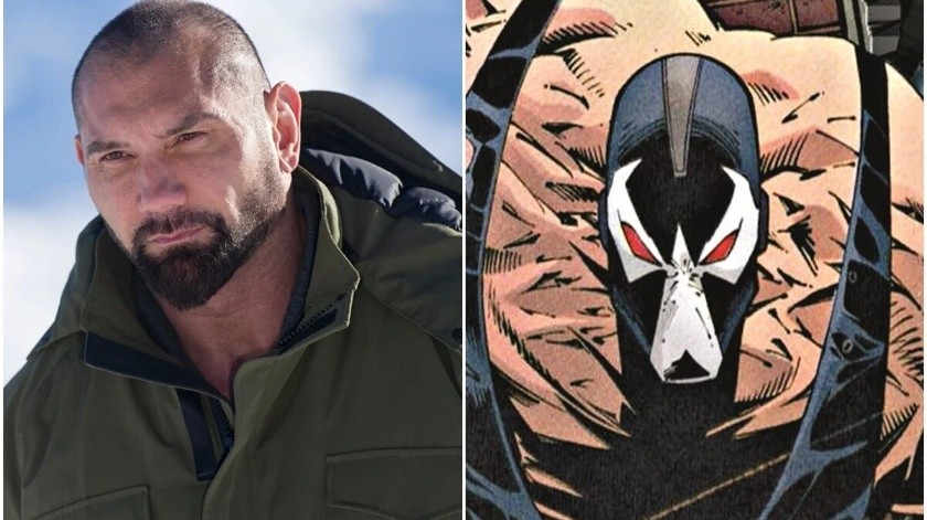 "Dave Bautista intentó ser Bane en ""The Batman"""