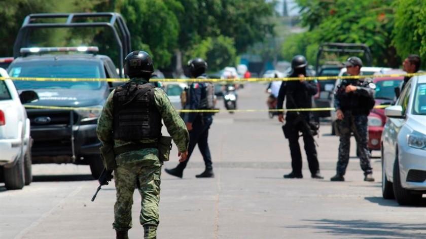 Ataca grupo de sicarios a base de Guardia Nacional en Michoacán(EFE)