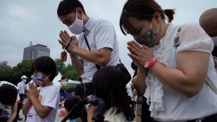 Hiroshima conmemora su resiliencia 75 años después de la bomba atómica(EFE)