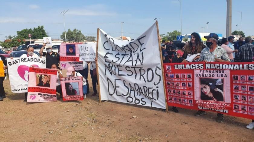 Queremos que AMLO nos ayude a encontrar a nuestros desaparecidos: Rastreadoras(Mayra Echeverría)