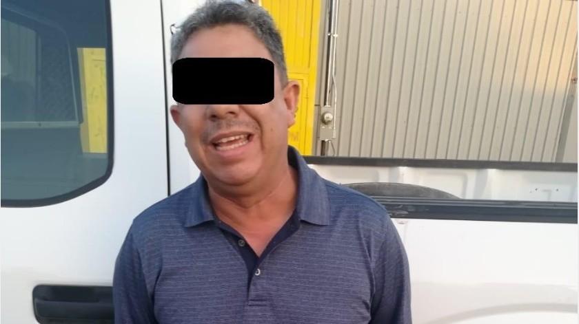 Manejaba auto robado en el 43(Cortesía)