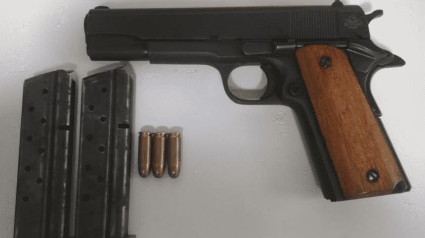 Arrestan a dos con armas en el valle de SLRC(Cortesía)