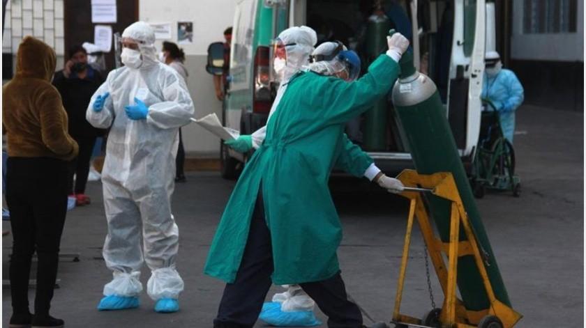 Durante el reporte diario con respecto a la pandemia por Covid-19, la jefa de Gobierno, Claudia Sheinbaum Pardo, comentó que la hospitalización el día de ayer (miércoles) se registró una disminución(EFE-Ilustrativa)