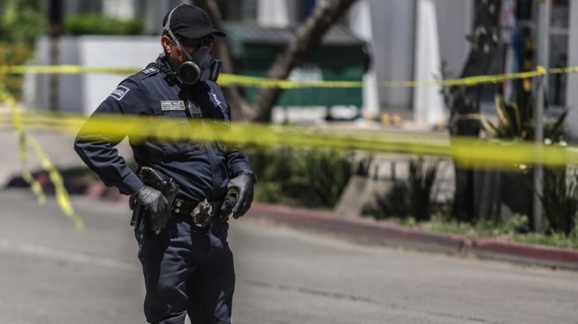 El Alcalde de Tijuana reconoció a los oficiales que han trabajado apoyando durante la pandemia.