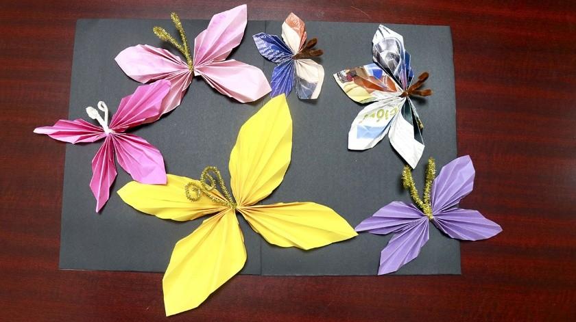 """""""Idea, Papel o Tijera"""" es una serie de talleres impartidos por Sandra Luz Palafox.(Cortesía)"""