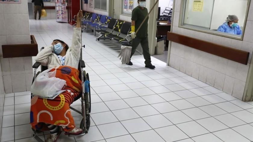 FOTOS: Traen vidas al mundo durante la pandemia; soledad, desatención y miedo(EFEEFE)