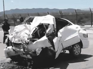 Taxista pierde la vida tras impactarse contra muro en Nogales