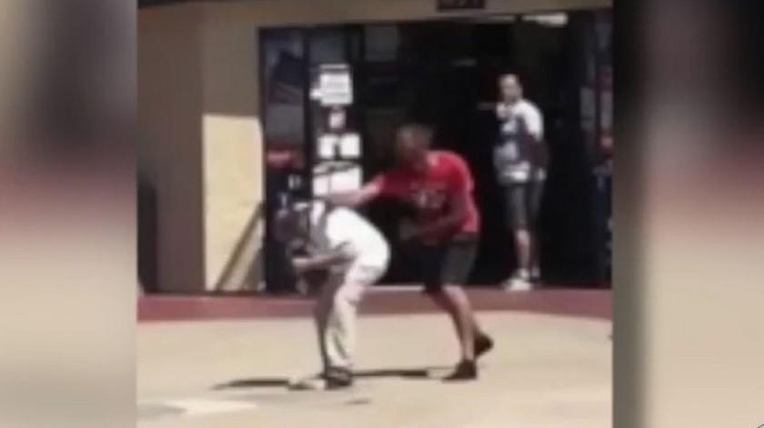 Los ahora inculpados asaltaron y agredieron a varias personas durante la protesta del 7 de junio.(Imagen tomada de video)