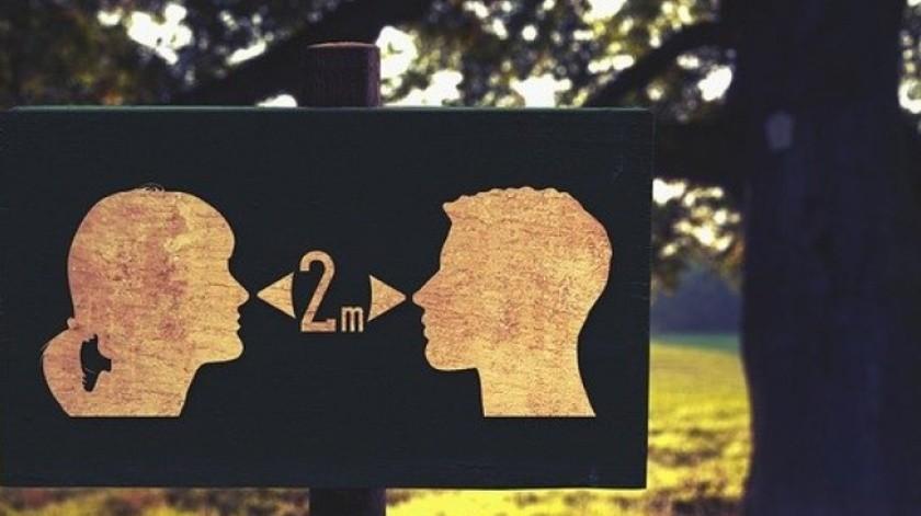 ¿Para qué sirve el distanciamiento social?(Tomada de la Red)