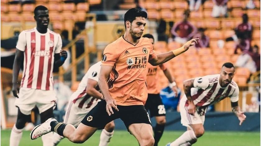 Jiménez le da el avance al Wolverhampton a los Cuartos de Final de la Europa League(Instagram @wolves)