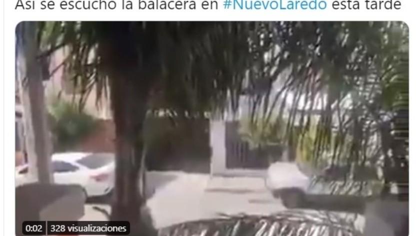 Registran fuerte balacera en Tamaulipas entre SEDENA y CDN(Captura)